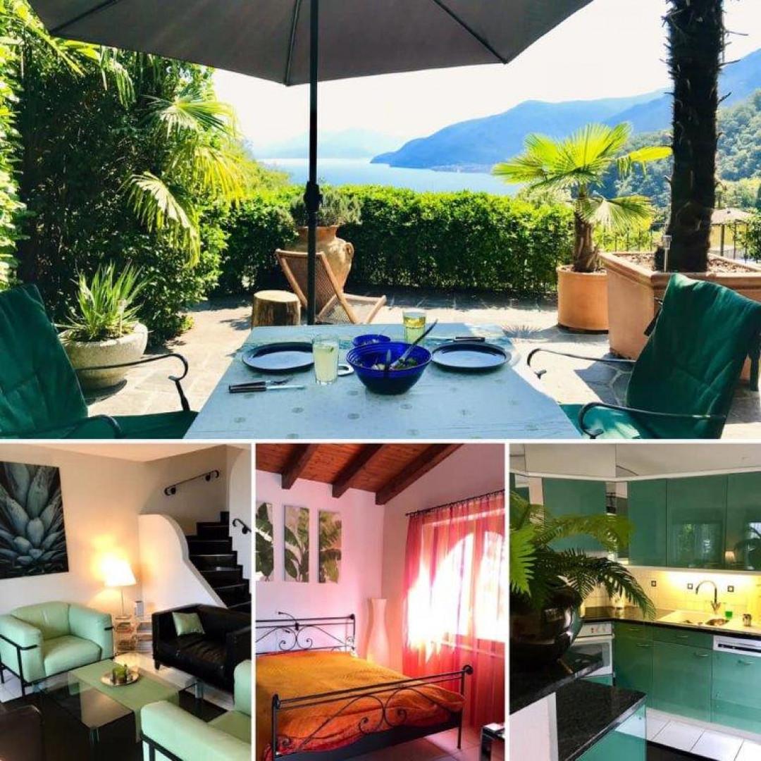 Schone Ferienhaus In Brissago Mit Panoramablick Auf Den Lago