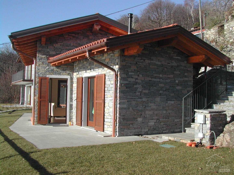 Schönes Haus im Landhausstil in Trarego,mit super See Sicht auf den ...