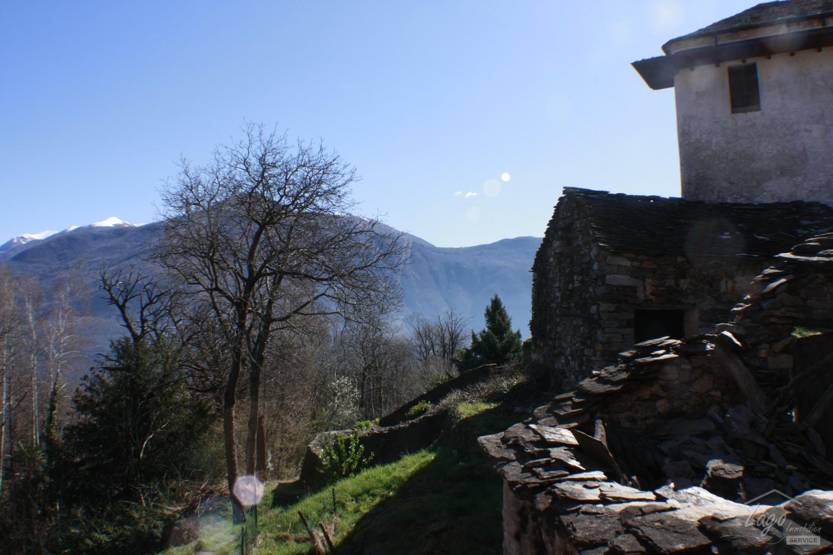 Rustico mit Seeblick in Campeglio, Cannobio, Lago Maggiore ...